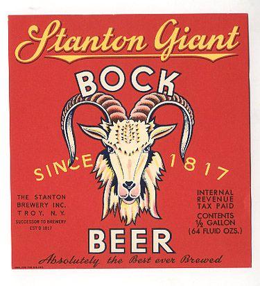 a favorite vintage bock beer label Vintage, Vintage labels and - beer label
