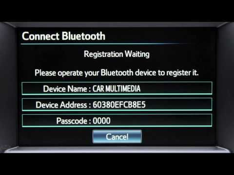 How to pair your Droid with your Toyota Entune® system