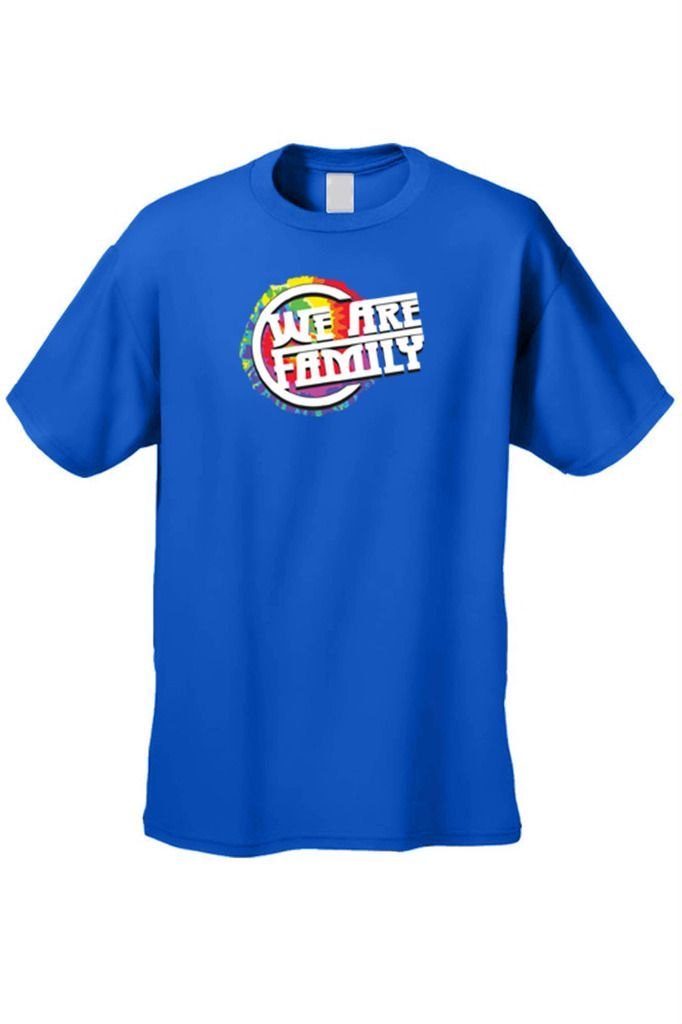 Men's T-Shirt We Are Family Tee Marriage Husband Wife Couple Kids Friends Love