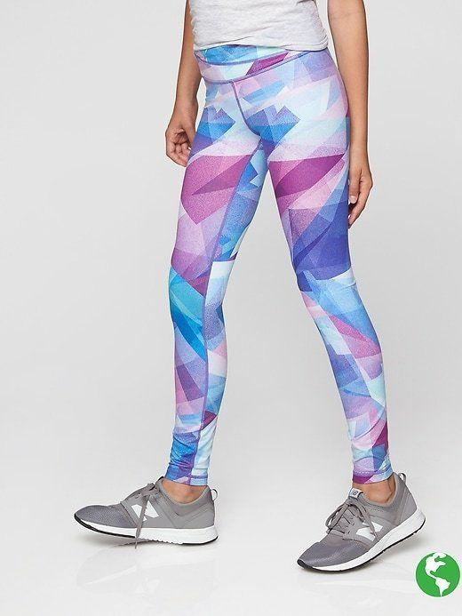 da34b5f4862d1 Athleta Girl Printed Chit Chat Tight Crossfit Shorts, Crossfit Clothes, Gym  Shirts, Girls