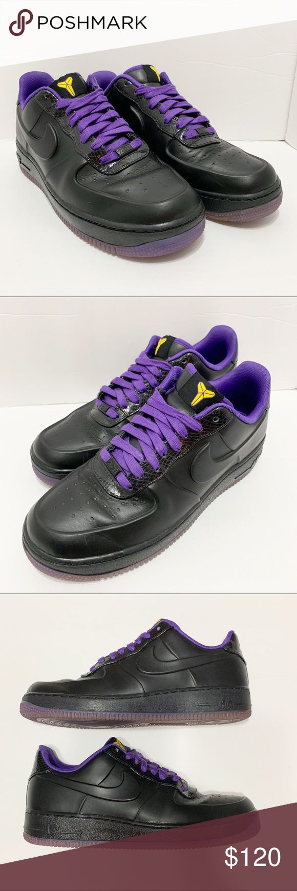 promo code cf39b cc48b Nike Air Force 1 AF1 Supreme VT Kobe Bryant Low Very rare shoe to find in
