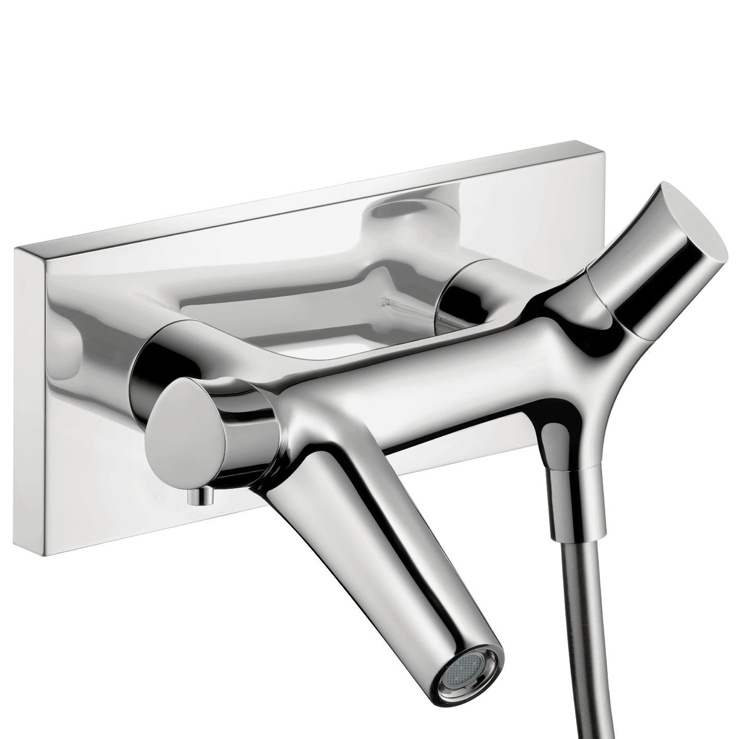 Axor Starck Organinc Two Handle Wall Mounted Tub Only Faucet ...