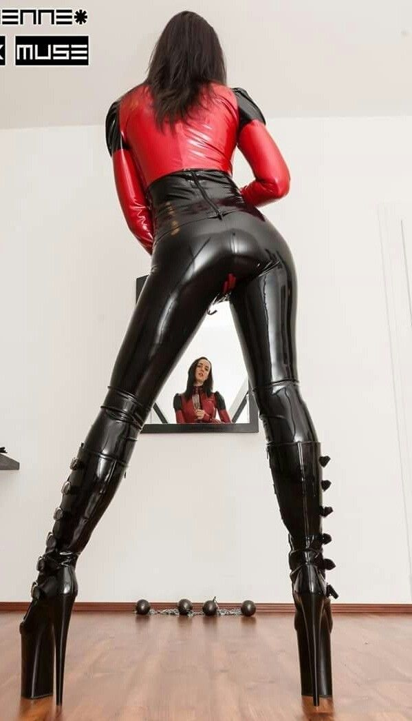 Angels in Tight Latex Catsuits and High Heels Tight Pinterest