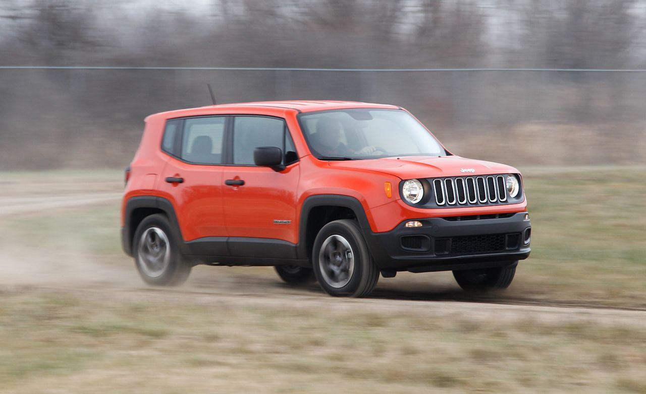 2015 Jeep Renegade Sport 4x4 1 4t Manual Jeep Renegade Jeep