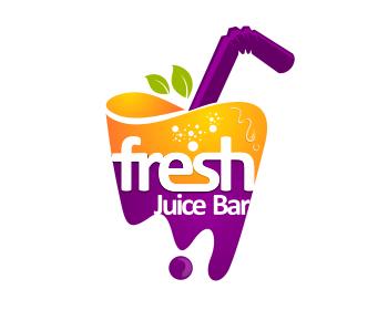 logo design entry number 41 by masjacky fresh juice bar