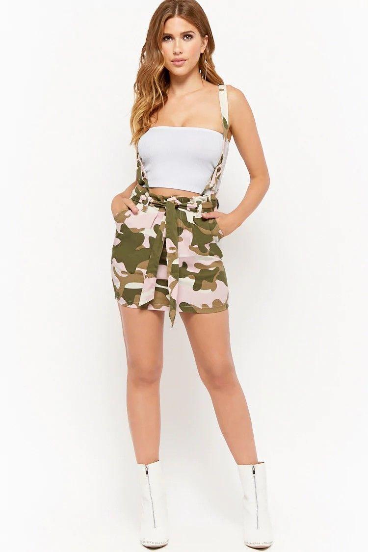 a36338feb07c Camo Suspender Mini Skirt $35.00 #fashion #outfits #model #dress #skirt #