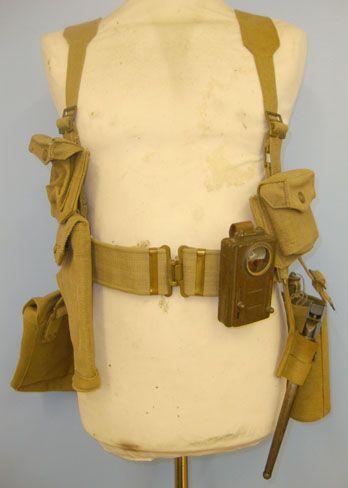 WW2 Dated British 1939 Pattern Mills Equipment Co Webbing Equipment