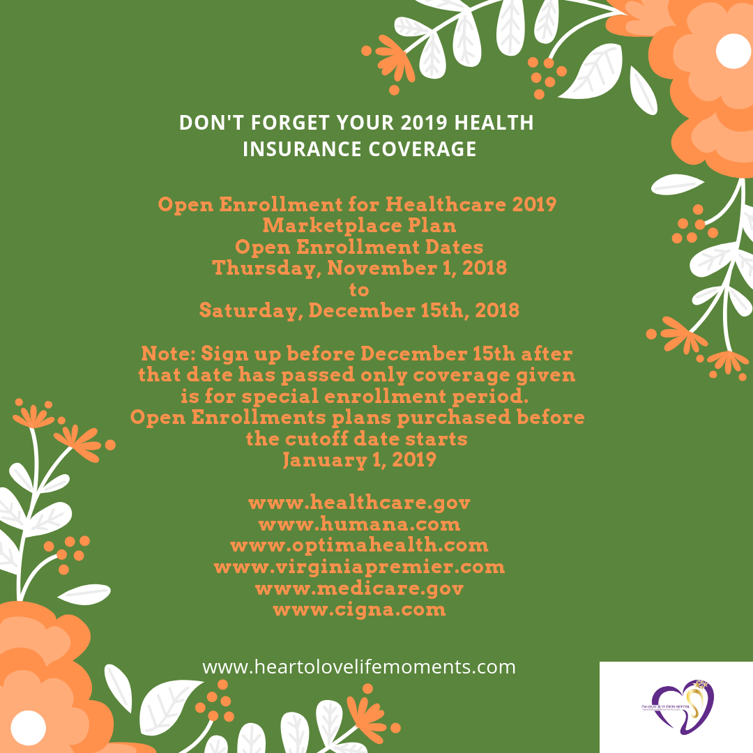 2019 Health Insurance Get Yourself Family Covered