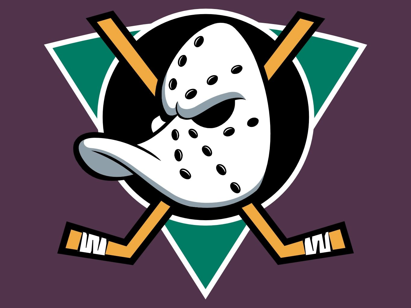 Anaheim Ducks Logo Hockey Logos Duck Logo Nhl Logos