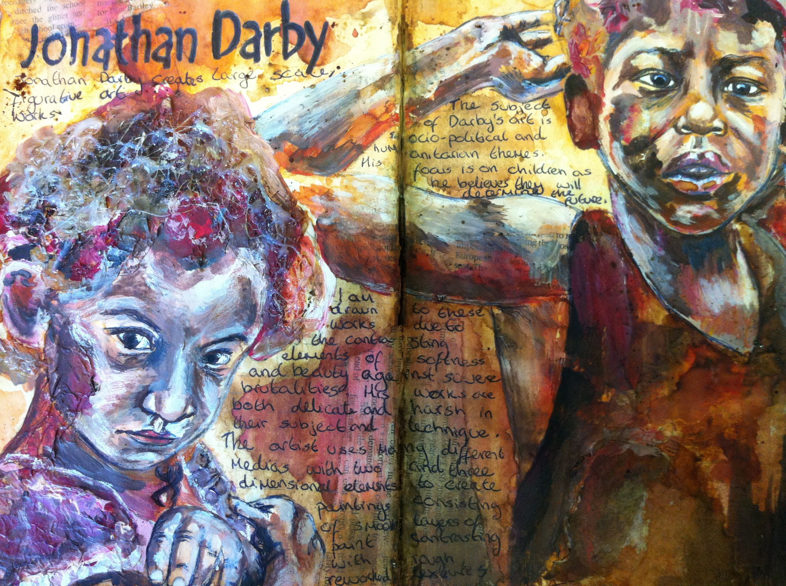 Sketchbook GCSE Art
