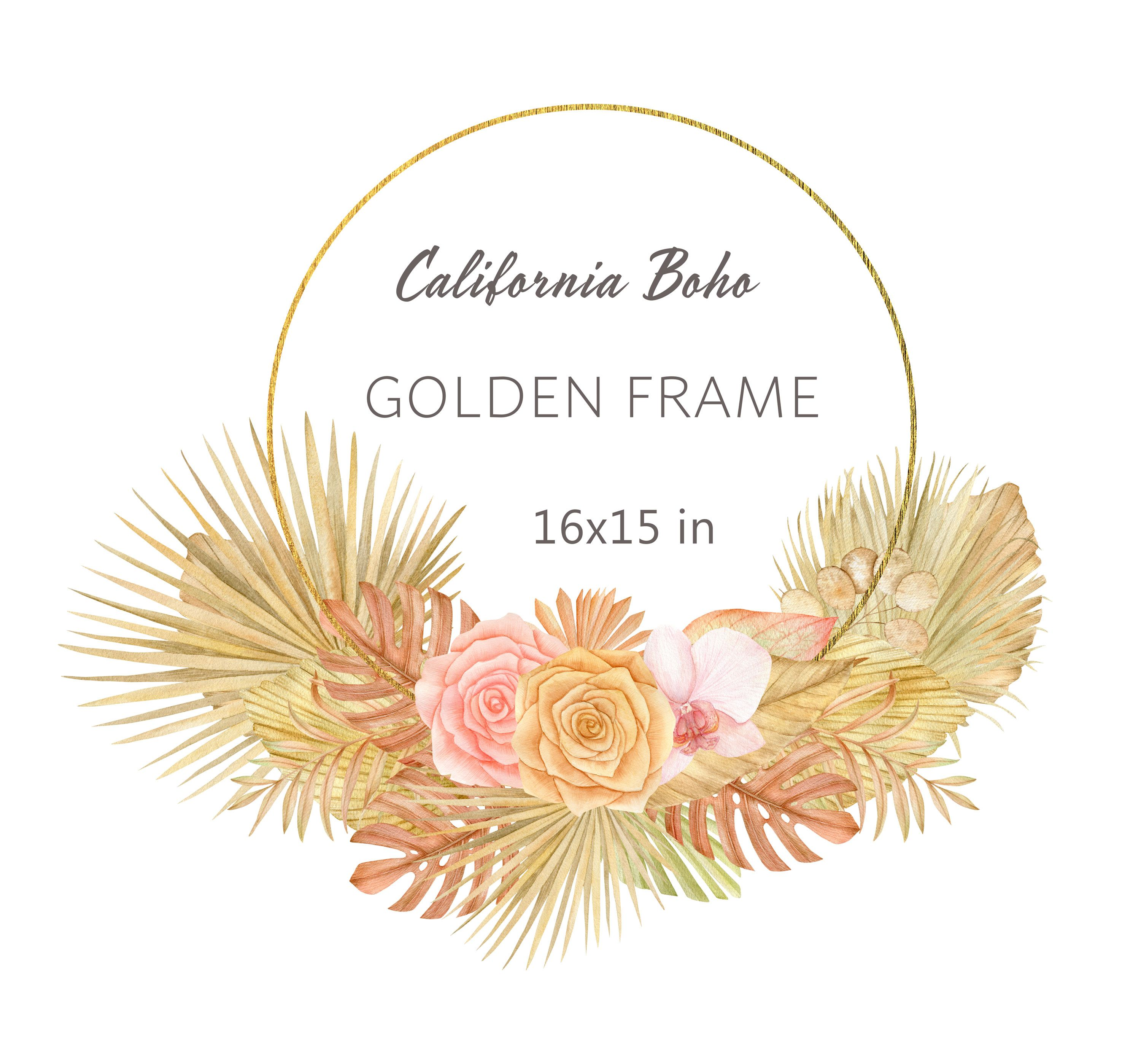 png files digital download greenery palm leaves wedding frames Watercolor Tropical frame  clipart Spring floral wreath