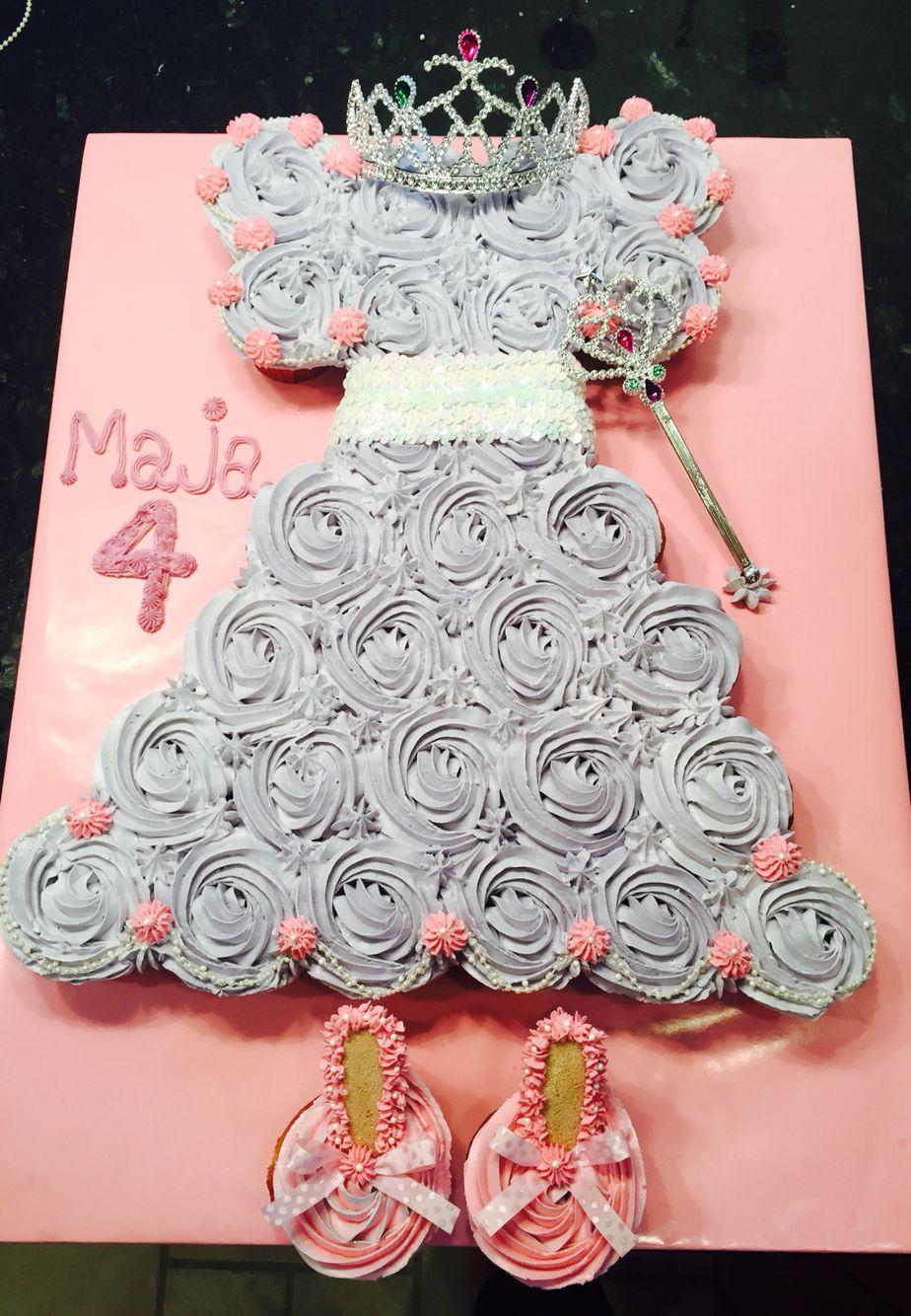 Princess cupcakes by Jaxi