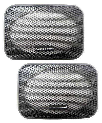Pair Of 4 X 6 Inches Car Speaker Grills By Audiobahn 19 99 Electronic Accessories Speaker Video Accessories