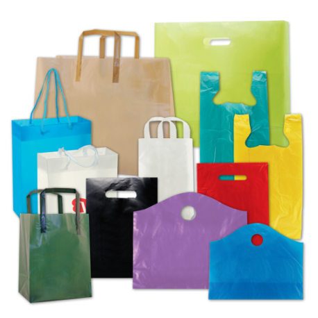 Custom Plastic Shopping And Grocery Packaging Bags Custom Shopping Bags Plastic Bag Packaging Paper Carrier Bags