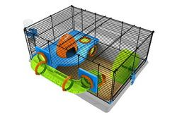 Rotastak Genus 200 Wire Mesh Hamster Cage For Dwarf And Syrian