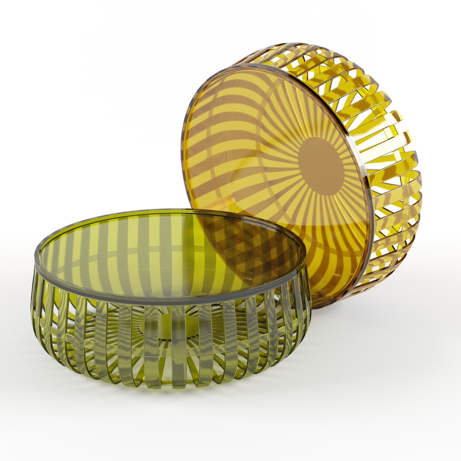 Delightful Kartell Panier Modern Coffee Table By Ronan And Erwan Bouroullec: Http://www