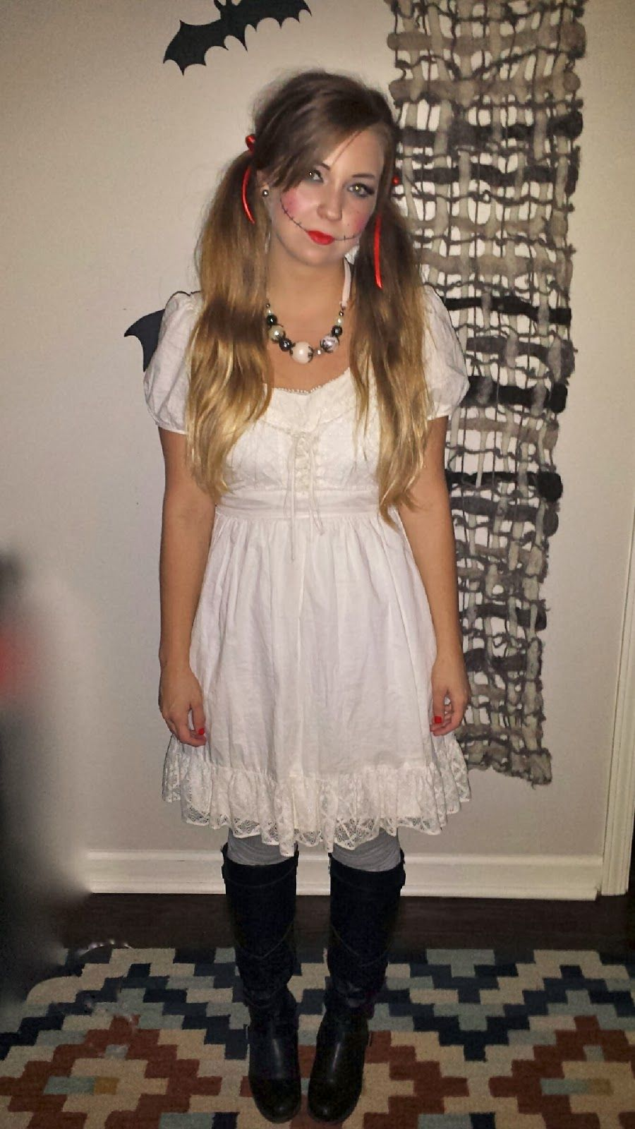 how to dress up as a scary doll for halloween google search - How To Make A Doll Costume For Halloween