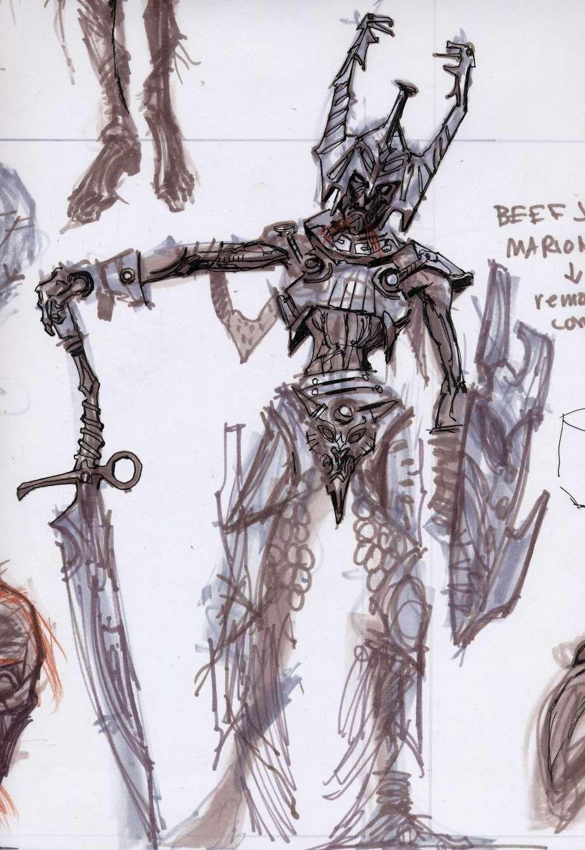 Draugr Concepts Concept Art From The Elder Scrolls V Skyrim