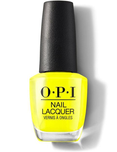 Opi Nail Lacquer No Faux Yellow 0 5 Oz Nlbb8 Bright Nail