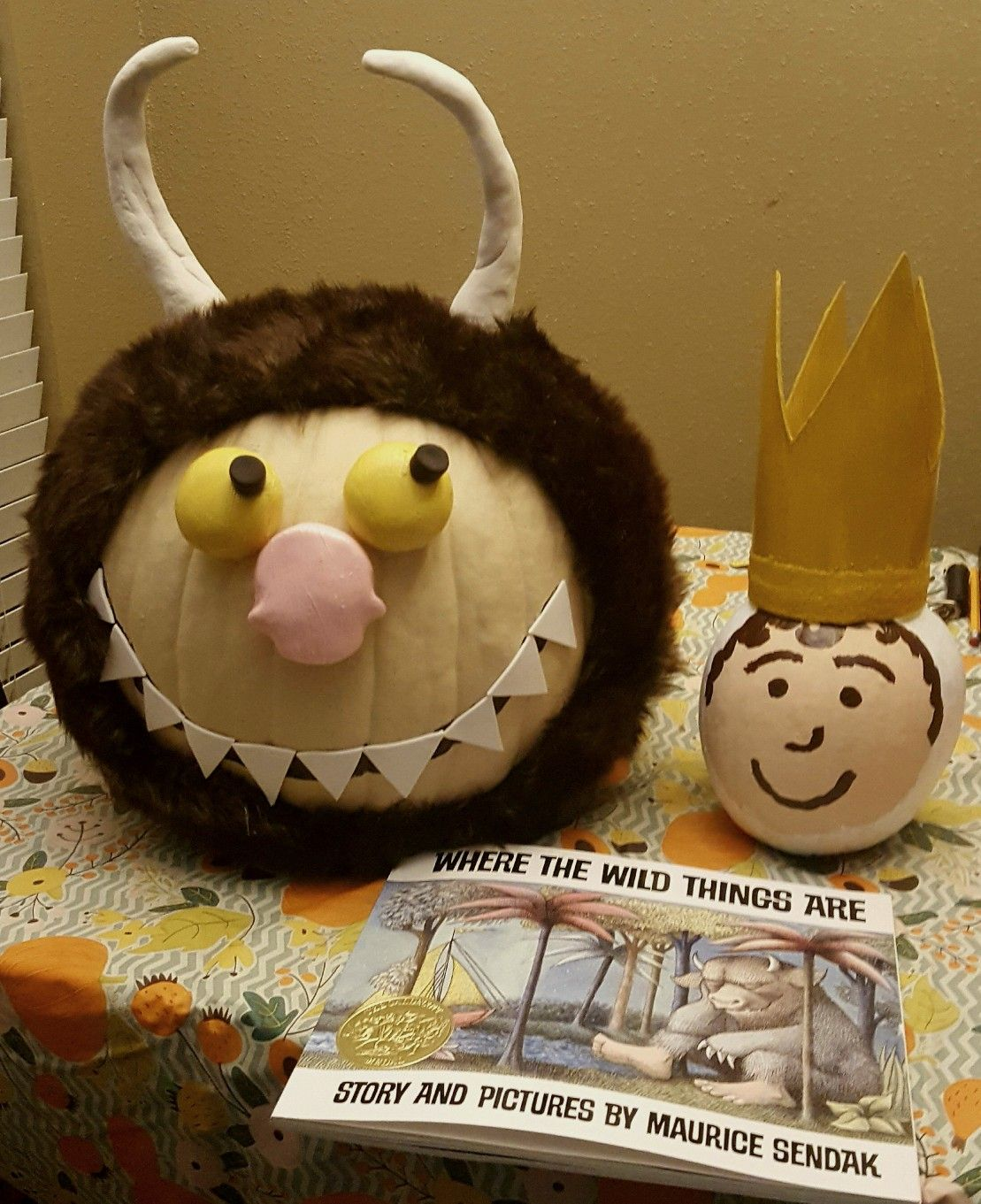 Where the Wild Things Are Storybook Pumpkin Story book
