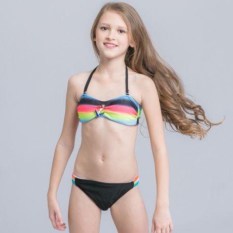 71e7451fdd583 Fashion teen girl swimwear bikini swimsuit discount
