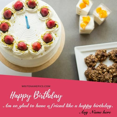 Online Wishes Happy Birthday Greeting Card With Name Images Free