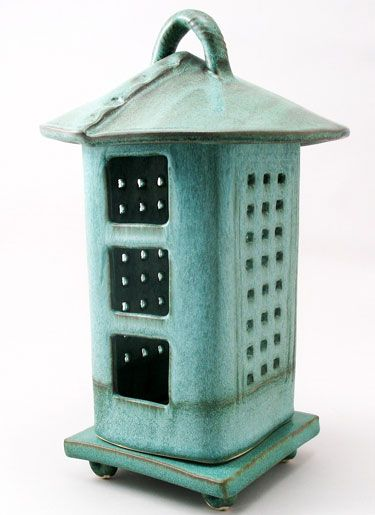 Another Lantern Idea Like This One Pottery Ideas