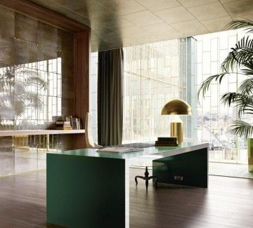 Bureau de direction design moderne VOGUE Space Pinterest