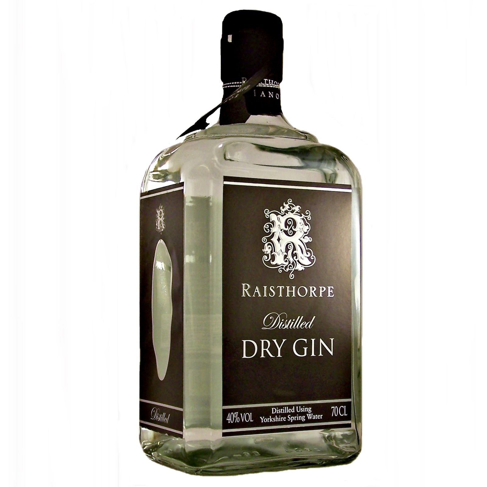 Raisthorpe Dry Gin distilled using Yorkshire Wold spring water available to buy online at specialist whisky shop whiskys.co.uk Stamford Bridge York