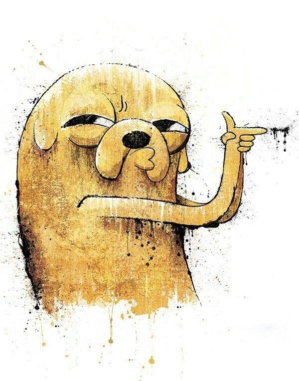 Caarton Arte De Adventure Time Dibujos Jake El Perro