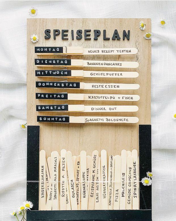 Photo of Wochenplaner / Speiseplan/ Essensplan – plus 49 Rezeptideen für die g…