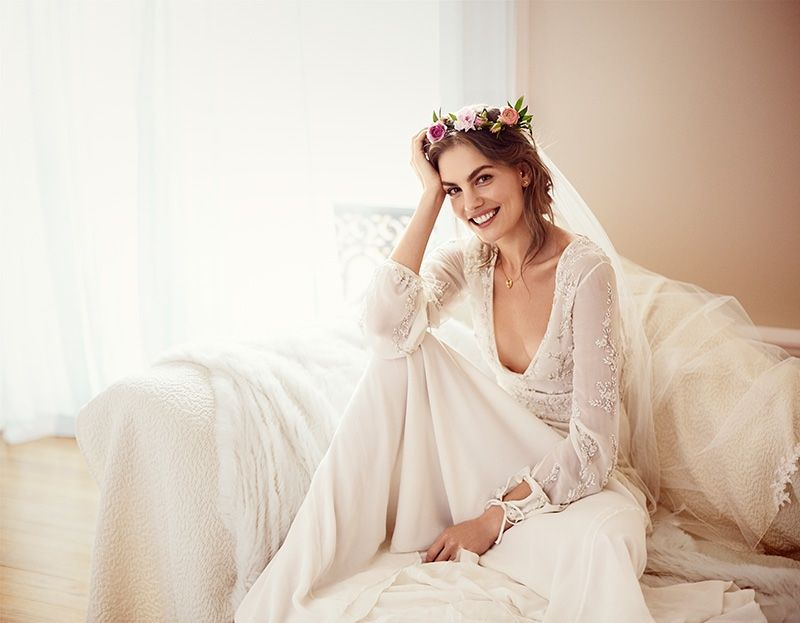 Svetlana Lazareva Models Gorgeous Wedding Gowns For Brides Magazine