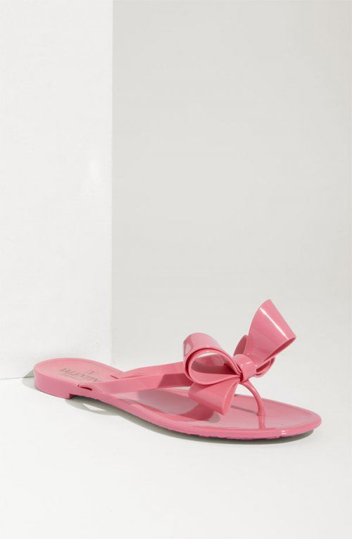 Valentino Bow Thong Sandals 100% guaranteed get to buy cheap price wide range of cheap price buy cheap Inexpensive hot sale online 3jOX1G9