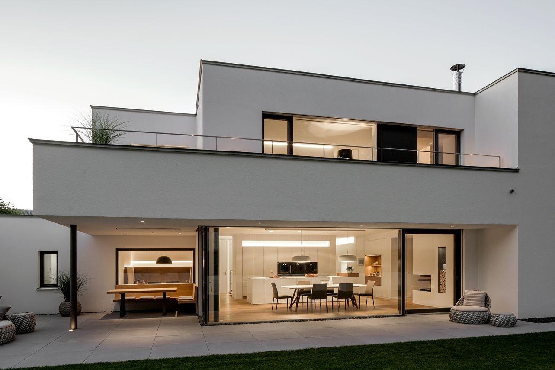 Modernes bungalow innenarchitektur wohnzimmer berschneider  berschneider architekten bda  innenarchitekten