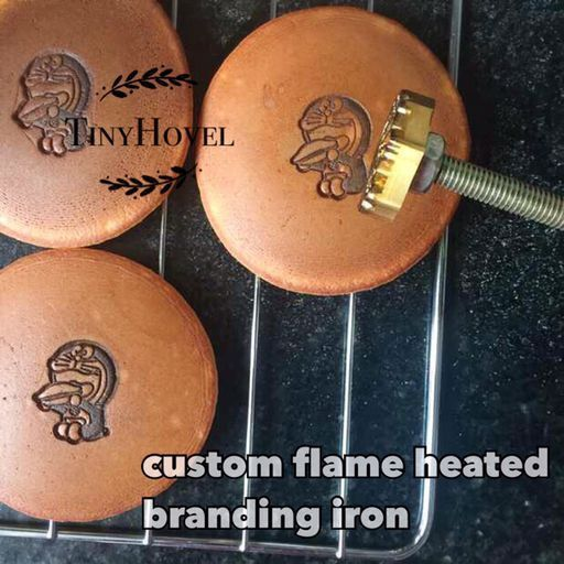 Custom Flame Heated Branding Irons Soldering Iron Wood Branding Leather Food Iron With Wooden Handle Making Your Own Logo Hb004 Wood Branding Custom Branding Iron Branding Iron