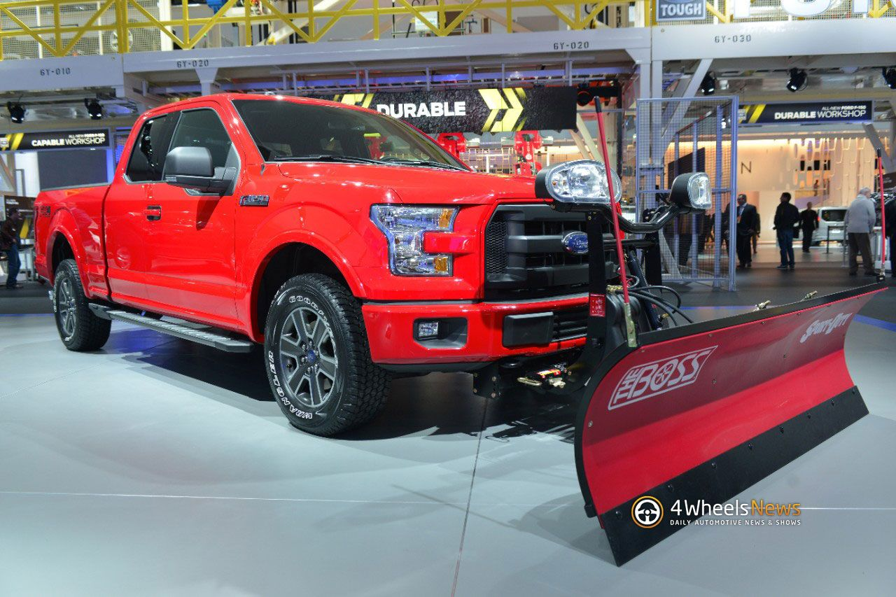 The 2015 ford will be offered with a snow plow prep option across all cab configurations ford announced at the 2014 chicago auto show