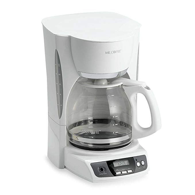 Mr Coffee 12 Cup Programmable Maker In White Review