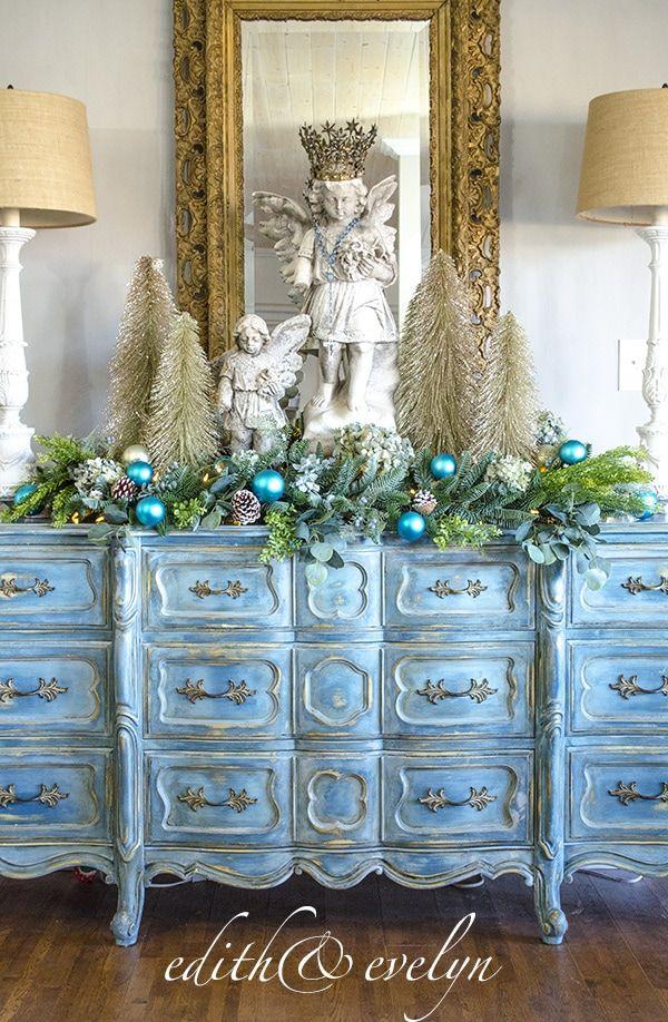 Photo of Country French Christmas Ideas – Cedar Hill Farmhouse