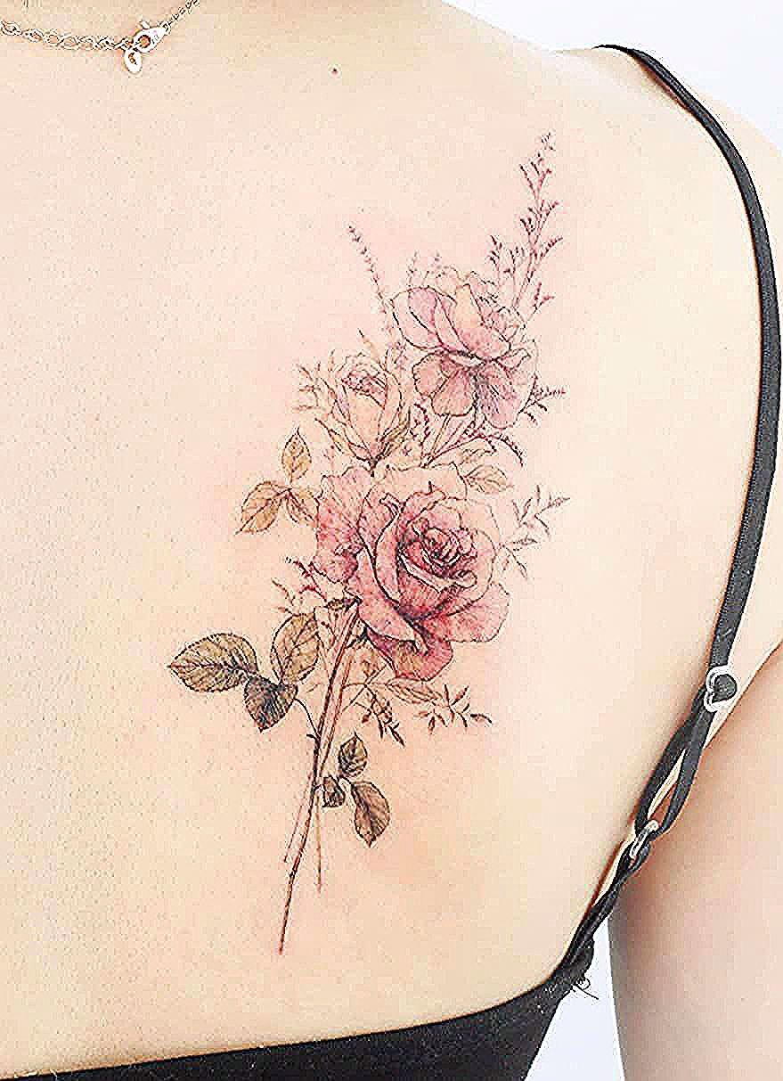 장미 in 2020 (With images) Dreamcatcher tattoo, Tattoos