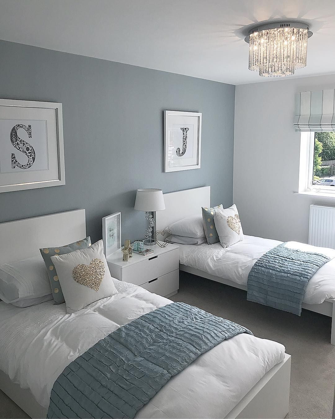 Future Mrs Smith On Instagram Gorgeous Girls Bedroom Inspiration By Kierliving Bedroom Shared Girls Bedroom Luxurious Bedrooms Twin Girl Bedrooms