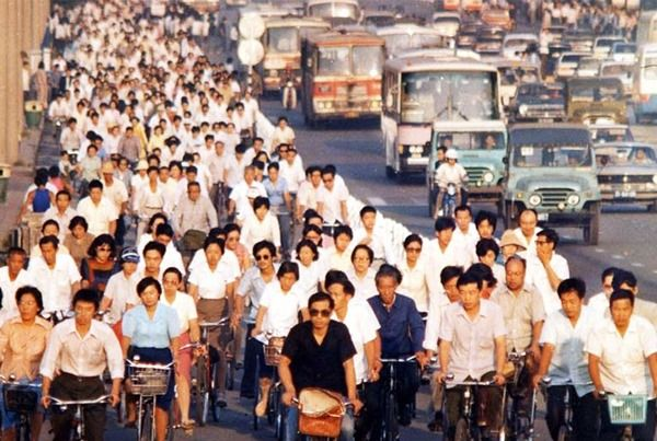 Photos China S History Of Bicycles The Urban Country Beijing Bicycle Chang An