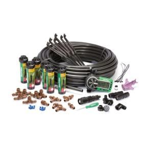 Rain Bird Easy To Install In Ground Automatic Sprinkler System 32eti The Home Depot Lawn Sprinkler System Automatic Irrigation System Sprinkler System Design