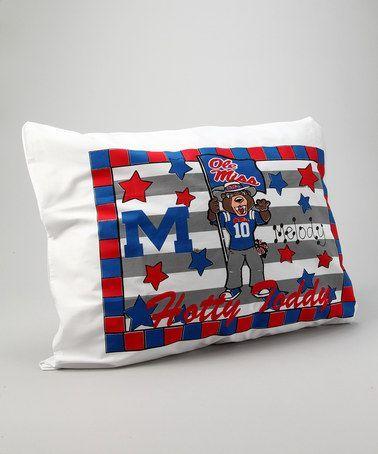 NEW Ole Miss Pillowcase