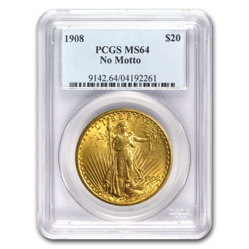 $20 Saint-Gaudens Gold Double Eagle Coin - Random Year - MS-64 PCGS - SKU #7224 - https://dealpursue.com/20-saint-gaudens-gold-double-eagle-coin-random-year-ms-64-pcgs-sku-7224/ Save $123.00 – $20 Saint-Gaudens Gold Double Eagle Coin – Random Year – MS-64 PCGS – SKU #7224. List: $1630.00. Price: $1507.26 (You Save 8%)