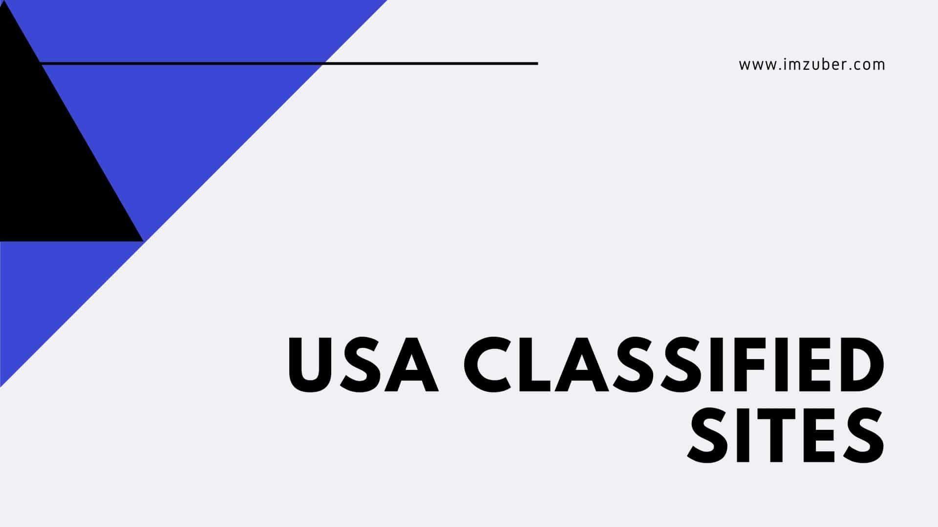300+ High PR USA Classifieds Sites List