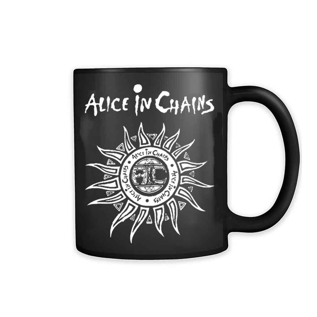 Alice in Chains Logo Coffee Mugs