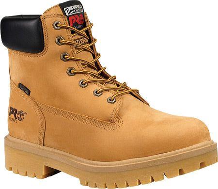 Men S Timberland Pro Direct Attach 6 Steel Toe Boot Waterproof