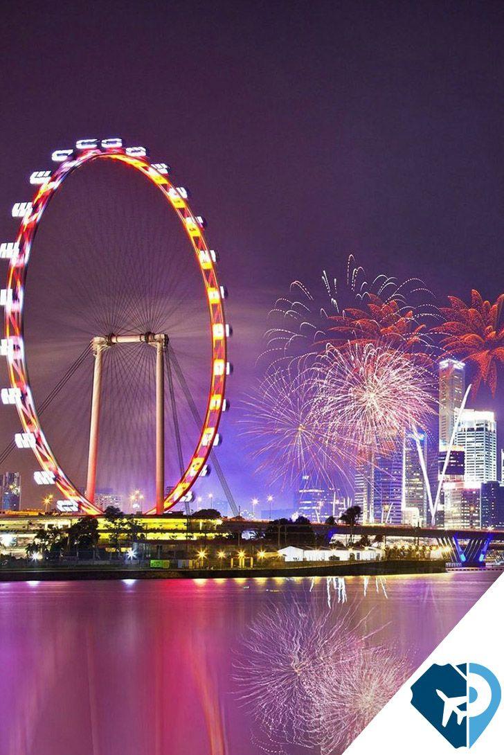 La Singapore Flyer Es El Mirador Mas Alto Del Mundo Mide 165 Metros