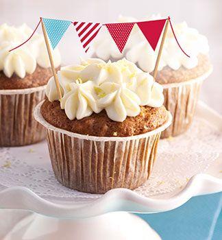 Karotten Cupcakes - Aurora Backrezepte