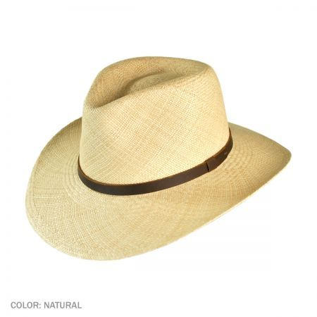 Jaxon Hats Panama MJ Outback Hat  bd4f9febfaa